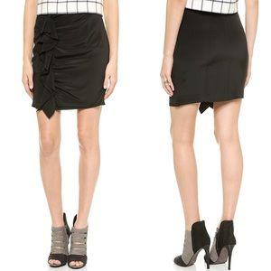 NEW Rebecca Minkoff Jensen Silk Ruffle Skirt 2-488